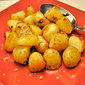 Roast Lemon Potatoes; Secret Recipe Club