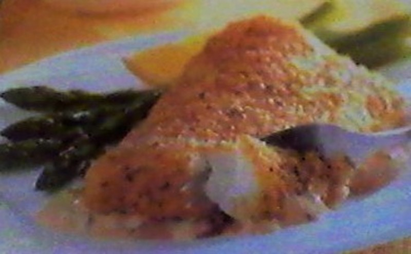 Baked cod fillets with a sriracha mayo sauce recipe by for Sauce for cod fish