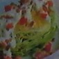 Wedge Salad with Diced Tomatoes and Pancetta