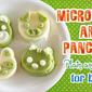 Microwave Animal Pancakes (for Babies) - Video Recipe