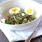 Asparagus and Lentil Salad with a Lemon-Walnut Vinaigrette