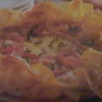 Phyllo Dough Tomato & Cheese & Herb Tartlet