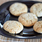 Eggless whole wheat almond cookies - easy eggless cookies recipes