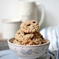 Baking | Wholegrain Oatmeal Cinnamon Chocolate Chip Cookies. Chewy or crisp, pure comfort food any which way #makehalfyourgrainswhole