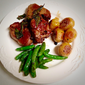 Seared Lamb Chops with Anchovies, Capers and Sage