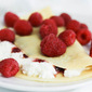 Raspberry Ricotta Crepes