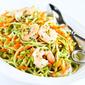 Lemon Rosemary Shrimp & Broccoli Slaw Recipe