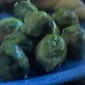 Lemon~Minced Garlic Sauteed Brussels Sprouts