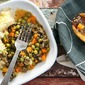 Easy Shepherd's Pie with Ground Turkey and Portobello Mushrooms