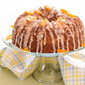 Rustic Pound Cake with Meyer Maple Glaze