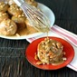 Caramel Banana Poke Muffins