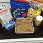Gluten free Nut free chocolate stuffed oatmeal bars