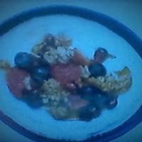 Breakfast/Brunch Berry Crumble & Yogurt