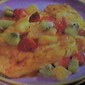 Baked Citrus Halibut with Tropical Fruit