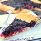 Blueberry and Cream Cheese Galette