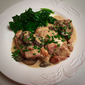 Jacques Pépin's Chicken and Mushrooms in Cream Sauce