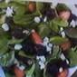 Arugula~Spinach~Blackberry~Feta Salad