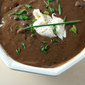 Dinner Party Black Bean Soup