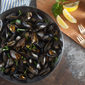 Mussels with Basil-Butter Sauce for Two + a Cookware Giveaway
