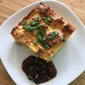 "A Delightful Savoury Scone ""Bread ""Pudding - Waste Not Want Not"