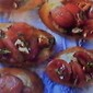 Blue Cheese & Tomato & Pecan Crostini