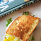 Grilled Asparagus, Taleggio, and Fried Egg Panini #WeekdaySupper