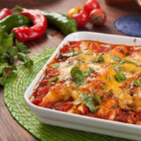 Cheese Enchiladas with Red Chile Gravy