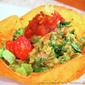 Guacamole Taco Salad Bowls from Laura Theodore