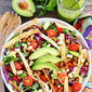 Roasted Chickpea Taco Salad