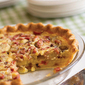 A Truly Southern Rhubarb Chess Pie