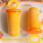 Mango popsicles – how to make homemade mango popsicles recipe – summer recipes