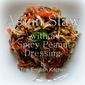 Asian Slaw with a Spicy Peanut Dressing