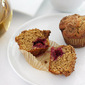 Crumb-Topped Blackberry Muffins