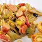 Leek and Radish Salad; a wee rant on rights