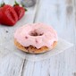Strawberry Donut Recipe with Strawberry Cream Cheese Frosting