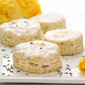 Coconut Lemon Scones with Lavender Option