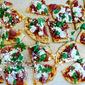 Prosciutto Pizza with Goat Cheese and Fresh Mozzarella
