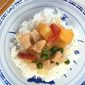 Pork Stir Fry with Pineapple and Peas