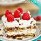 Skinny Chocolate Raspberry Icebox Cake
