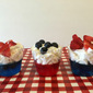 #CookoutWeek: Patriotic Jello Cups