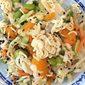 Ramen Noodle Salad with Edamame and Mandarin Oranges