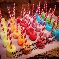 Flavored Marshmallow Treats