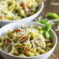 Pesto Cavatappi (Noodles & Company Copycat)