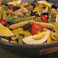 Pasta Salad, Niçoise Style, sunflowers – or not