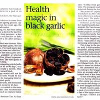 How to mae black garlic