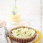 Baking | Mascarpone Lime Curd Walnut Oat Tart. Simple, Delicious Dessert #makehalfyourgrainswhole