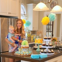 "Chase's ""You Are My Sunshine"" Themed First Birthday Party"