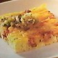 Eggs-Meat-Cheese Corn Bread Squares