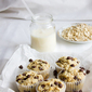 Banana Chocolate Chip Muffins – Eggless