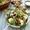 lebanese salad with lemony tahini dressing and za'atar pita chips